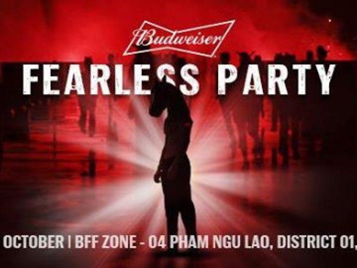 Budweiser Fearless Party 2017