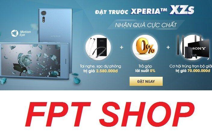 FPT-Sony Xperia XZs