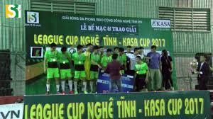 Lễ trao giải League Cup Nghệ Tĩnh – Kasa Cup … Vinh quang Thanh Chương.