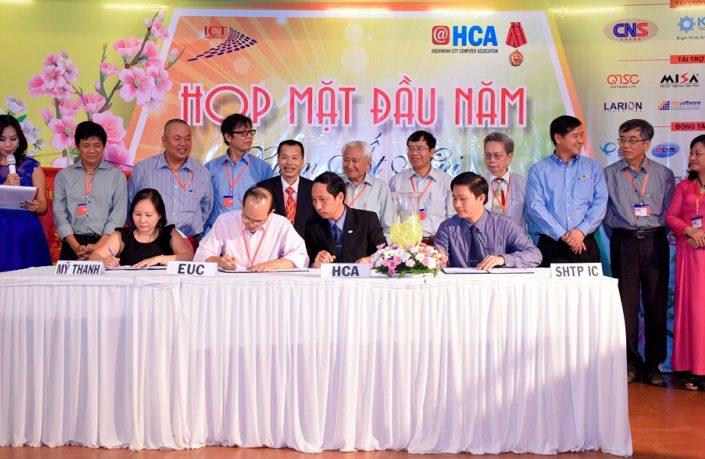 Hội Tin học TP.HCM họp mặt Xuân Ất Mùi