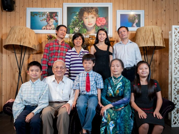 Gia đình Dũng